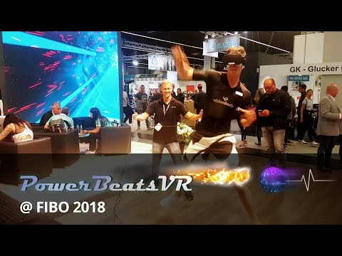 Having Fun with Virtual Reality at the Fitness Fair FIBO 2018