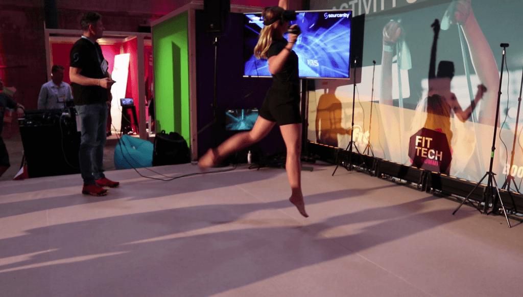 Having Fun at the FitTech Summit 2018 in Munich
