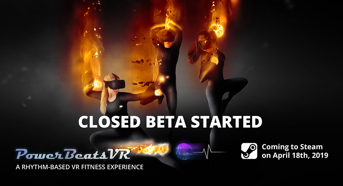 PowerBeatsVR - Intense Rhythm-Based VR Fitness Game - Closed Beta Started