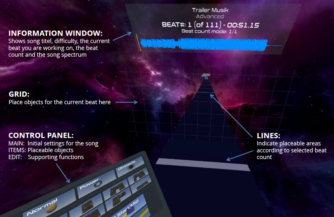 PowerBeatsVR Level Editor Info 1