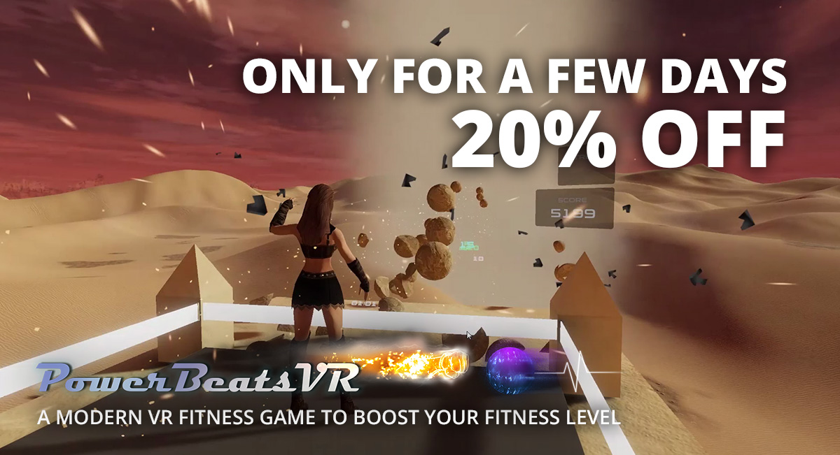 PowerBeatsVR - Intense Rhythm-Based VR Fitness Game - Steam Summer Sale