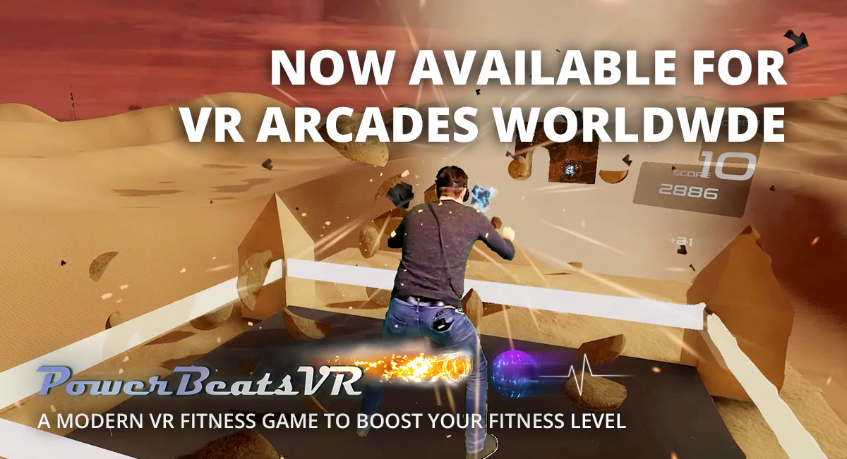 PowerBeatsVR - Intense Rhythm-Based VR Fitness Game - VR Arcades Worldwide