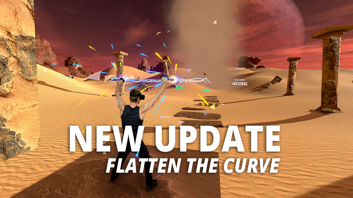 PowerBeatsVR - VR Fitness - Flatten the Curve Update