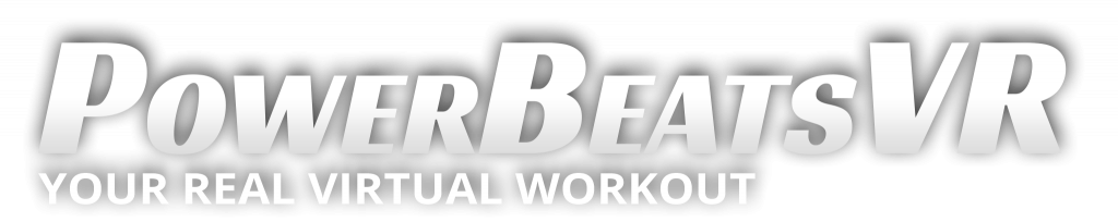 PowerBeatsVR - Logo With Tagline And Shadow