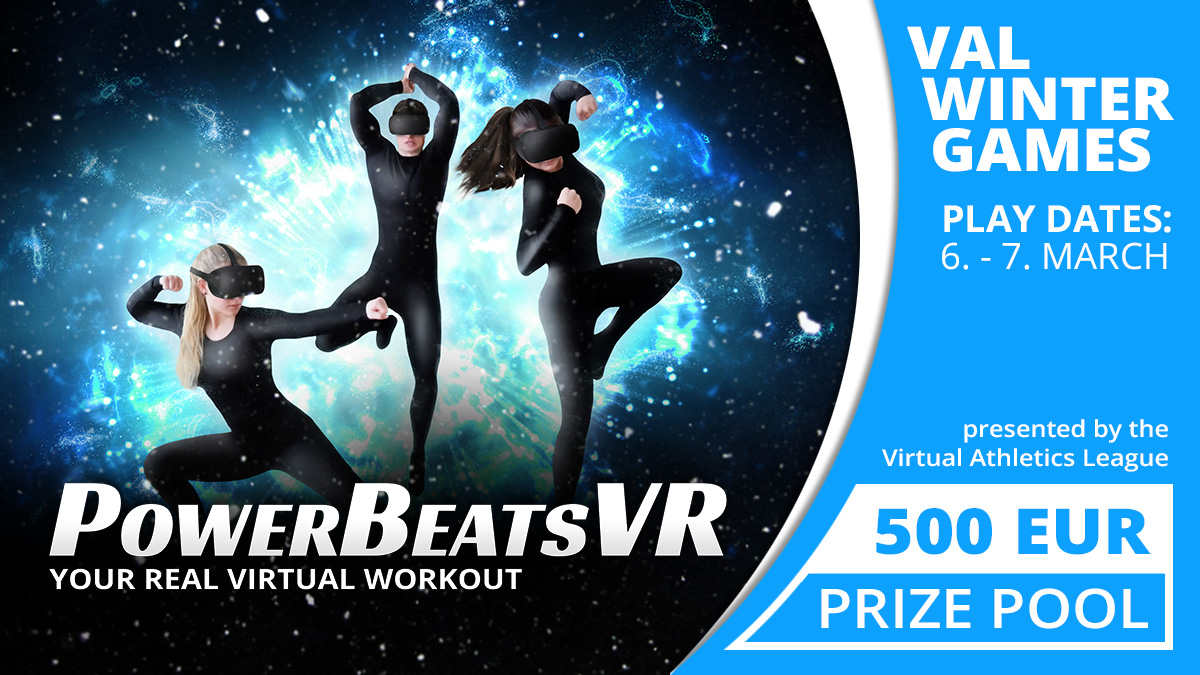 VAL Winter Games 2021 with PowerBeatsVR