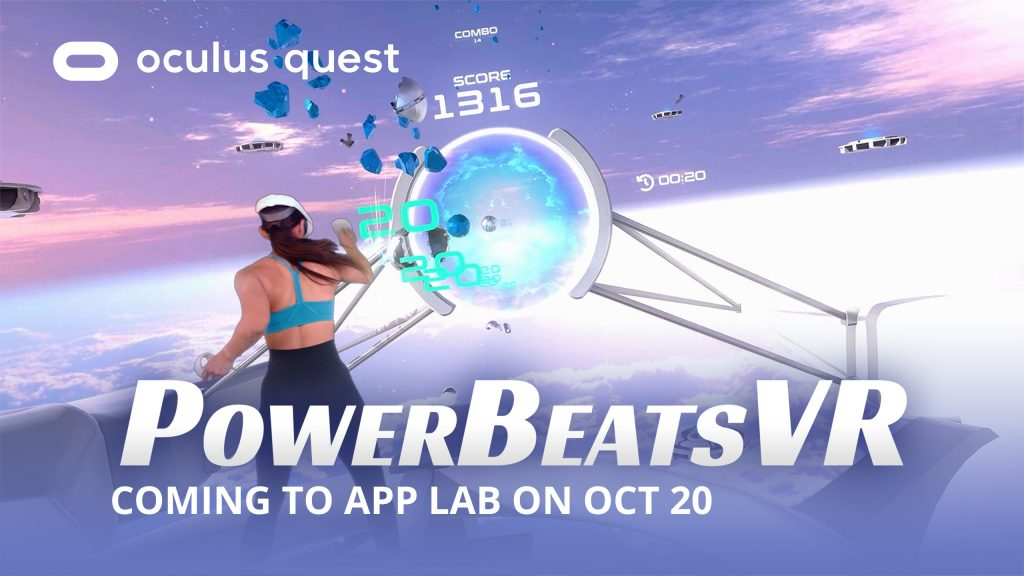 PowerBeatsVR is Coming to Oculus Quest App Lab on October 20