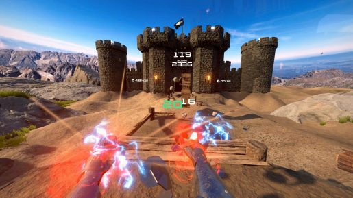 PowerBeatsVR - In-Game - Powerfist Medieval FPV