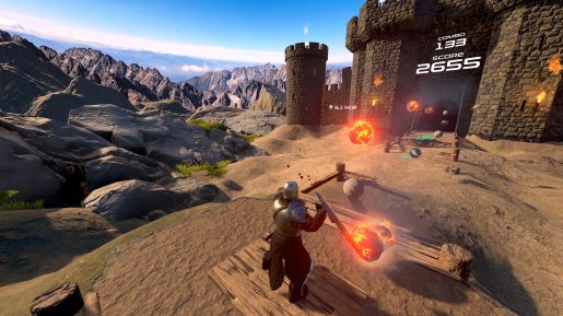 PowerBeatsVR - In-Game - Shield Medieval Avatar