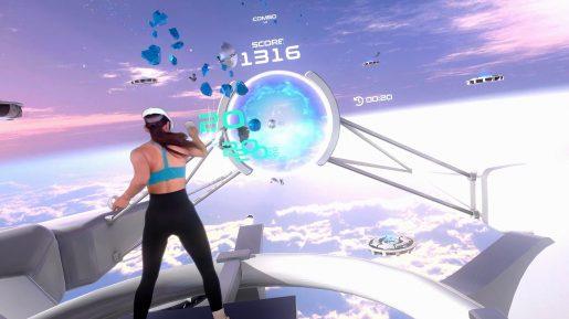 PowerBeatsVR - In-Game - Shield Sky FPV