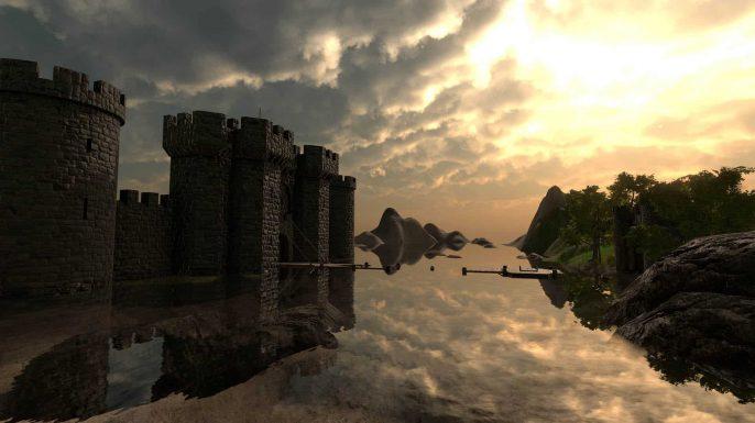 PowerBeatsVR - Rhythm-Based VR Fitness Game - Castle Environment